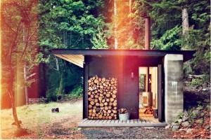 coole h tte mit stil. Black Bedroom Furniture Sets. Home Design Ideas