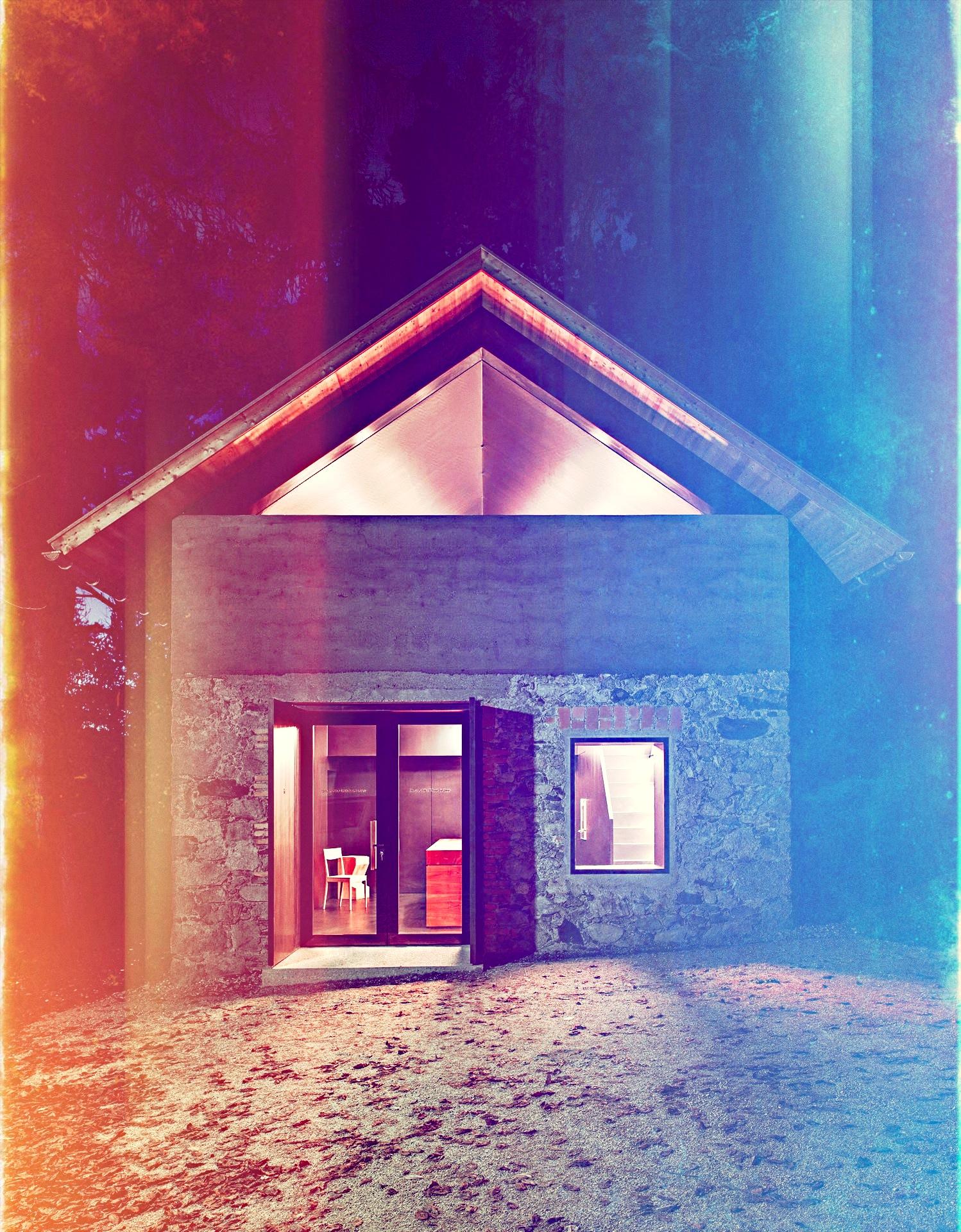 Atelier-Kitchen-Haidacher-Lukas-Mayr-Architekt-Atelierk-Bei-Nacht-Small-House-Humble-Homes