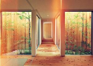 haus mit innengarten. Black Bedroom Furniture Sets. Home Design Ideas